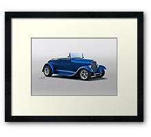 1929 Ford 'Pretty Boy' Roadster Framed Print