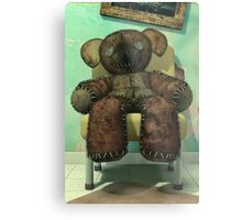 The Old and Unloved Teddy Bear Metal Print