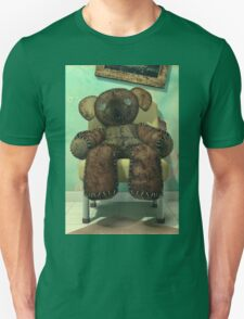 The Old and Unloved Teddy Bear Unisex T-Shirt