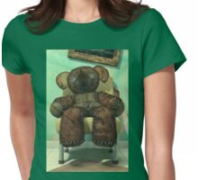 The Old and Unloved Teddy Bear Womens Fitted T-Shirt