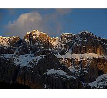 Dolomite Delight - Val Gardena, Italy Photographic Print