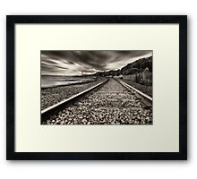 On Track Framed Print
