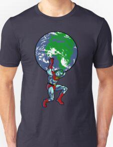 Captain Planet Shrugged T-Shirt