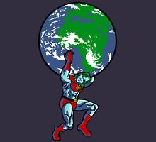 Captain Planet Shrugged T-Shirt