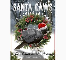santa caws Long Sleeve T-Shirt