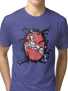 Wonderland Deer Tri-blend T-Shirt