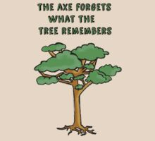 The Axe Forgets What The Tree Remembers by HWilso