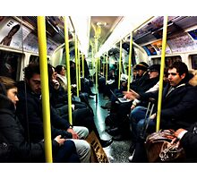 Strangers on a train Photographic Print