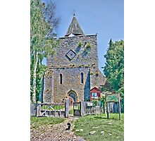 St Nicholas And The Cat Photographic Print
