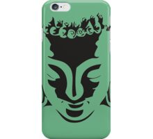 Awesome Buddha Face Stencil Art iPhone Case/Skin
