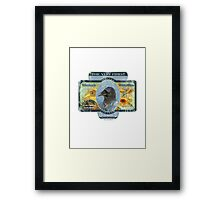 vincent van crow art supplies Framed Print