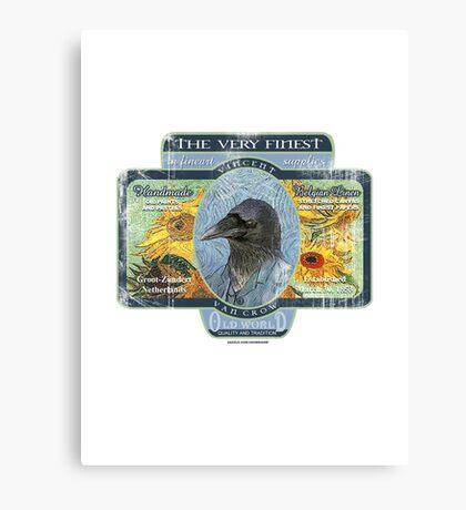 vincent van crow art supplies Canvas Print