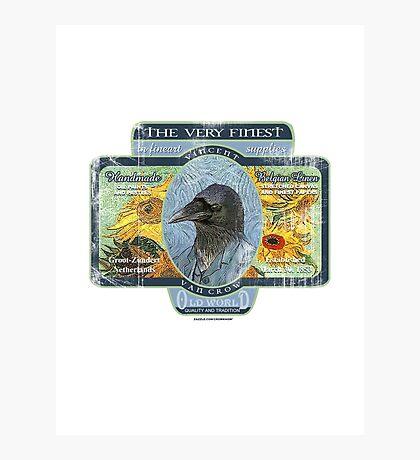vincent van crow art supplies Photographic Print