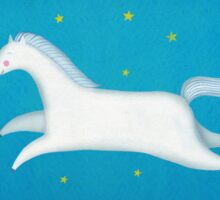 White horse Sticker
