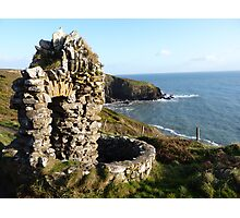 Cliff Walk in Ardmore Co.Waterford, Ireland Photographic Print