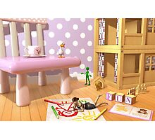 A Child's Playroom - Where The Toys Live Photographic Print
