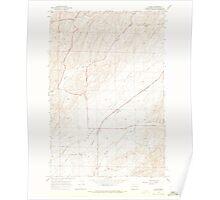 USGS Topo Map Washington State WA Clyde 240582 1967 24000 Poster