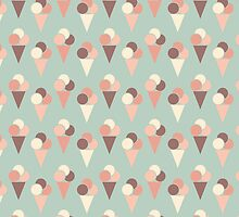 Ice-cream pattern by ashkenazigal