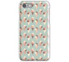 Ice-cream pattern iPhone Case/Skin