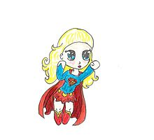 Supergirl by Tony Heath