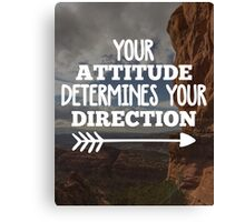 Your Direction Quote Canvas Print
