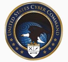 US Cyber Command Logo Baby Tee