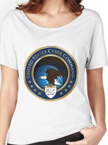 US Cyber Command Logo Women's Relaxed Fit T-Shirt