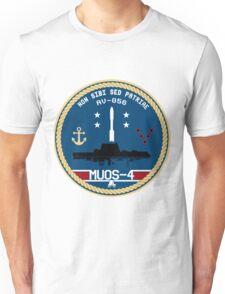 Mobile User Objective System 4 Program Logo Unisex T-Shirt
