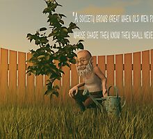 When Old Men Plant Trees by Liam Liberty