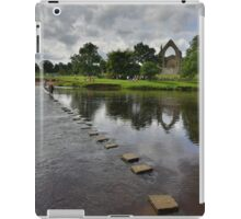 Yorkshire: Stepping Stones at Bolton Abbey iPad Case/Skin
