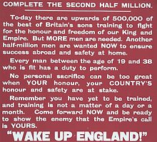 Britains new million army Complete the second half million 575 by wetdryvac