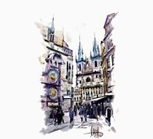 Old Town Square in Prague Unisex T-Shirt