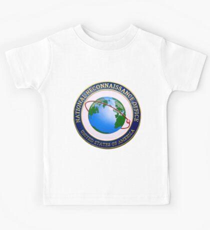National Reconnaissance Office (NRO) Logo Kids Tee
