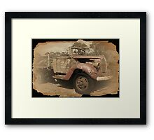 Past Its Best Framed Print
