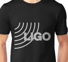 LIGO Logo for Dark Backgrounds Unisex T-Shirt