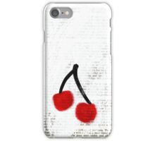 Cherries iPhone Case iPhone Case/Skin