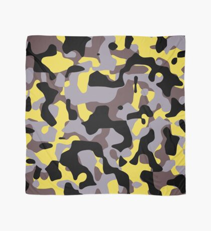 Yellow Stinger Camouflage Scarf