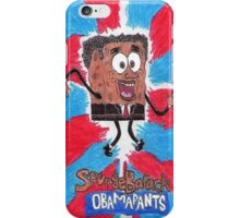 SpongeBarack Obamapants iPhone Case/Skin