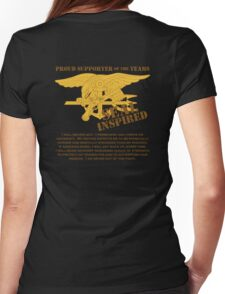 Navy SEAL Inspired with Creed Womens Fitted T-Shirt