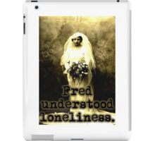 Lonely Fred iPad Case/Skin