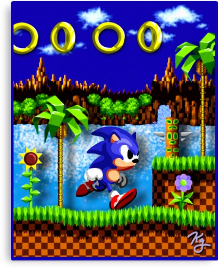Sonic Hedgehog, Gotta Go Fast! by likelikes