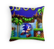 Sonic Hedgehog, Gotta Go Fast! Throw Pillow