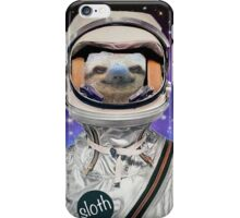 The Sloth Space Programme iPhone Case/Skin