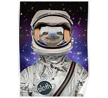 The Sloth Space Programme Poster