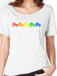 rainbow skates Women's Relaxed Fit T-Shirt