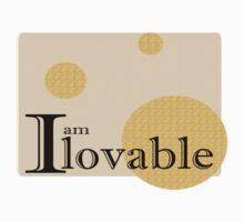 I am Lovable (Affermations2) by limeaidegirl