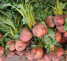 Bunches of Beets by Tom  Reynen