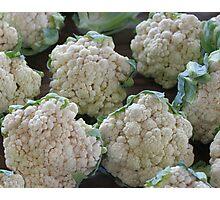 Cauliflower Photographic Print