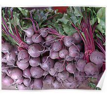 Red Beets Poster