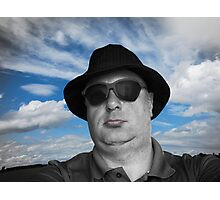 Brother Nafets Blues Photographic Print